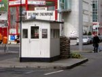 Checkpoint Charlie with Friedrichstrasse — Berlin [Photo: Raymond]