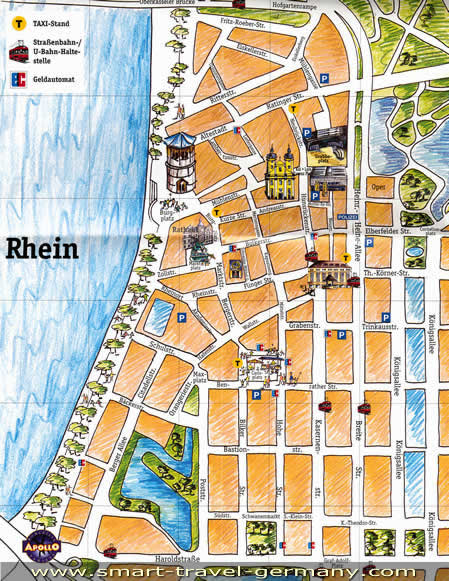 Dusseldorf Germany -- A Modern City on map of sydney australia, map of rail dusseldorf to cologne germany, map of wittlich germany and dusseldorf, map of krefeld, map of europe, map of germany dusseldorf germany,
