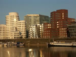 Architectonic Fascinating And New Dusseldorf Media Harbour [Photo: Runghold]