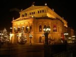 Frankfurt Alte Oper (Opera House) By Night [Photo: Heidas]