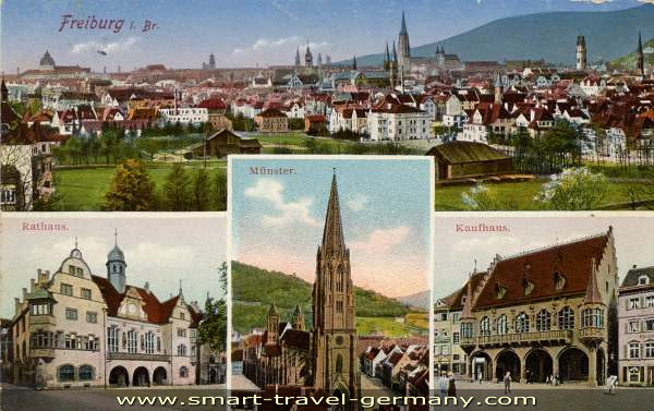Historical Facts of Freiburg Germany