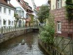 Gerberau / Insel in Freiburg Germany [Photo: Florian K.]