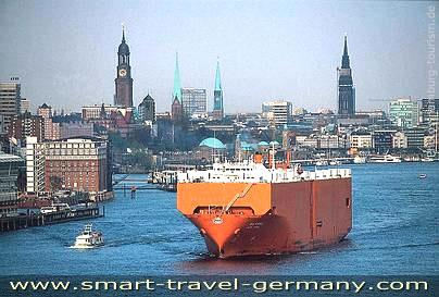 Hamburg Port One Of The Biggest Harbours Worldwide