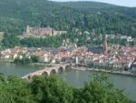 Skyline of Heidelberg Germany