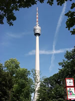 Stuttgart TV Tower (Fernsehturm) [Photo: Andreas Hornig]