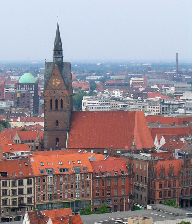 Hanover Germany And Its Historical Style